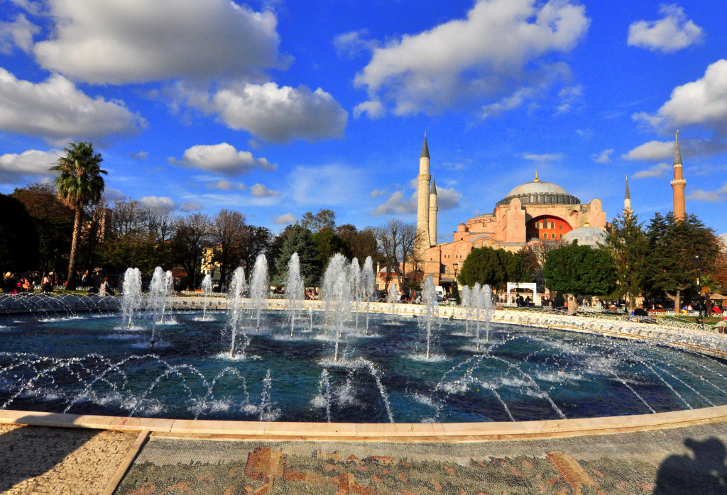 View Of Hagia Sophia Church Sultanahmet