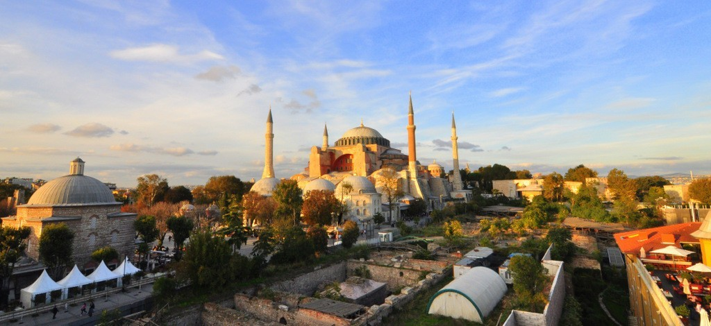Hagia Sophia Panoramic Photography