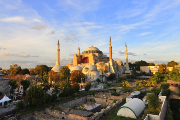 Hagia Sophia Panoramic Photography