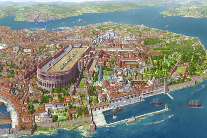 Constantinople Capital of Byzantine Empire