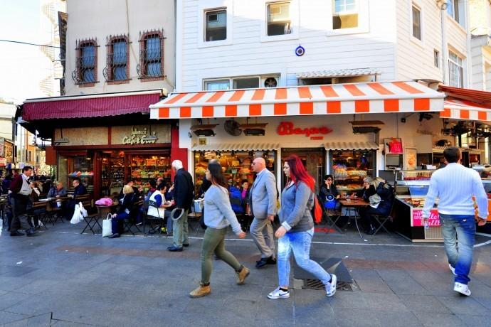 Kadikoy Market Area
