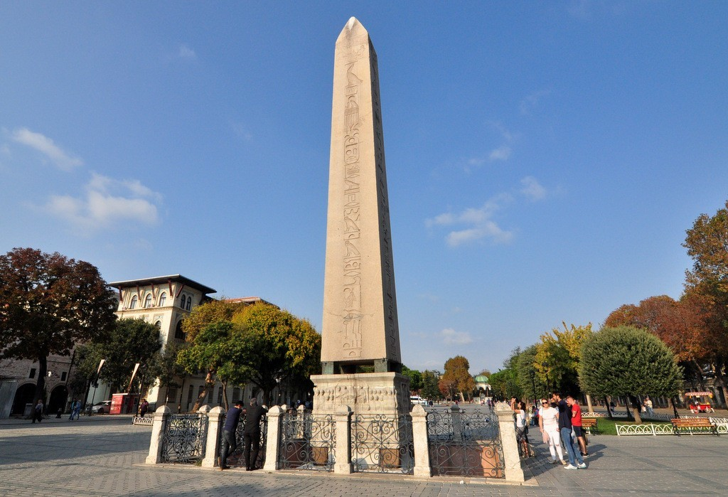 Theodosius Egyptian Obelisk Hippodrome of Constantinople Photo