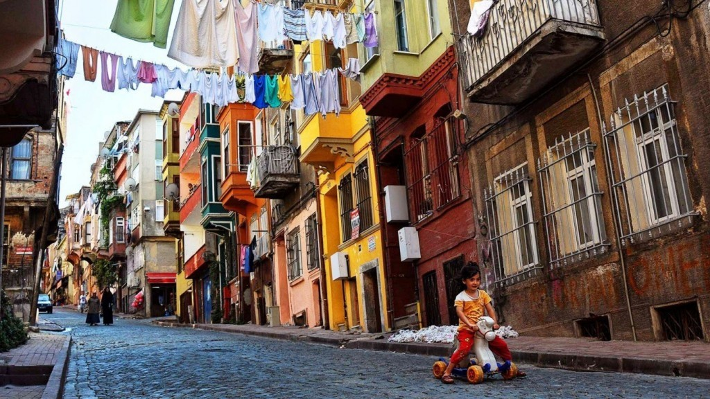 Streets of Balat Istanbul