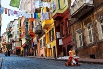 Streets of Balat Istanbul