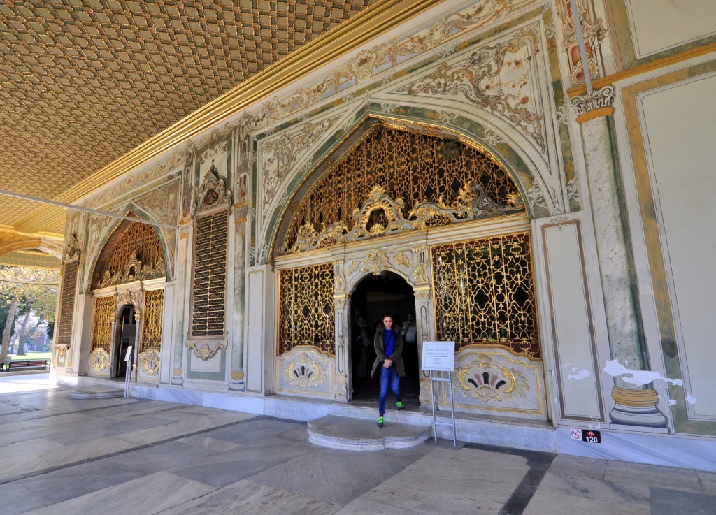 Imperial Council in the 2nd Courtyard of Topkapi Palace.