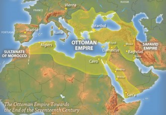 Ottoman Empire Map Greatest Extent 1699