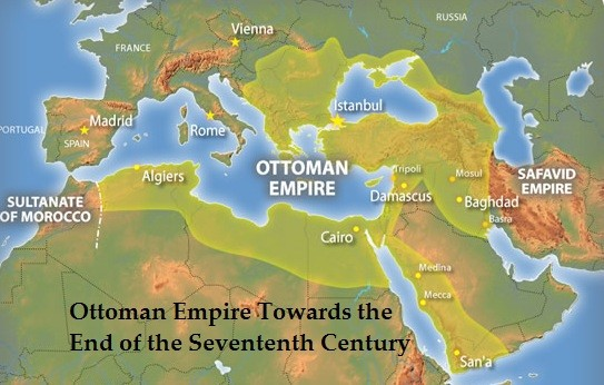 The Peak Of The Ottoman Empire Map