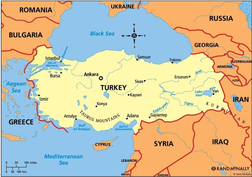Modern day Turkey. Heartland of the Ottoman Empire.