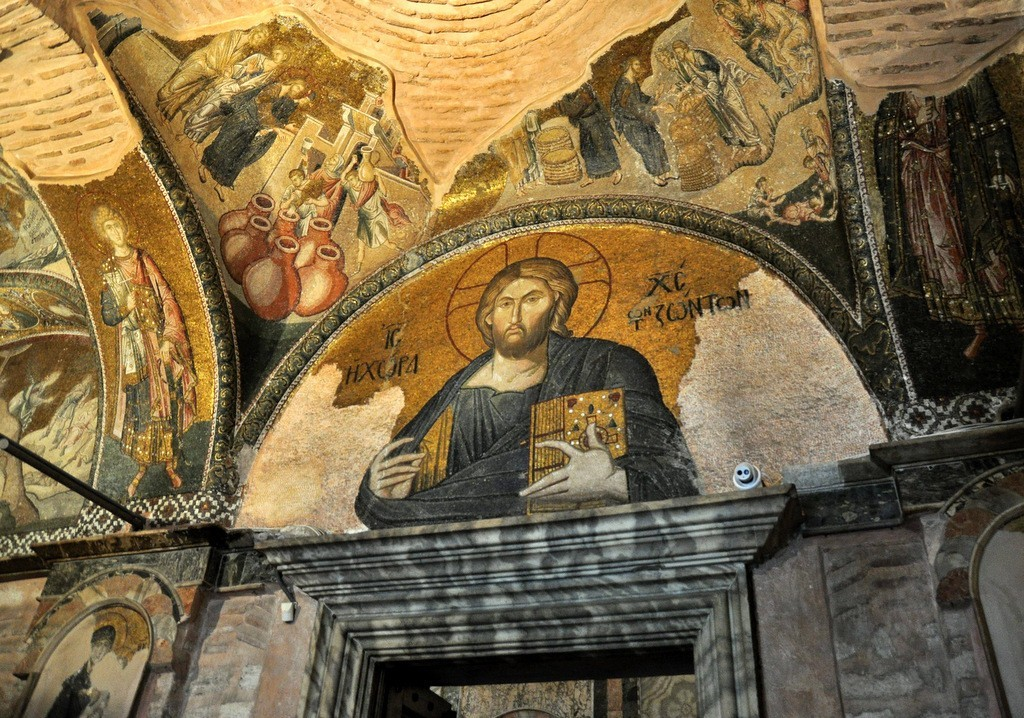 Chora Church Jesus Christ Pantocrator