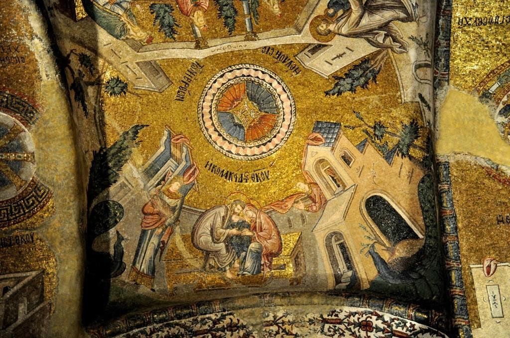 Chora Church Virgin Mary Joachim Anne