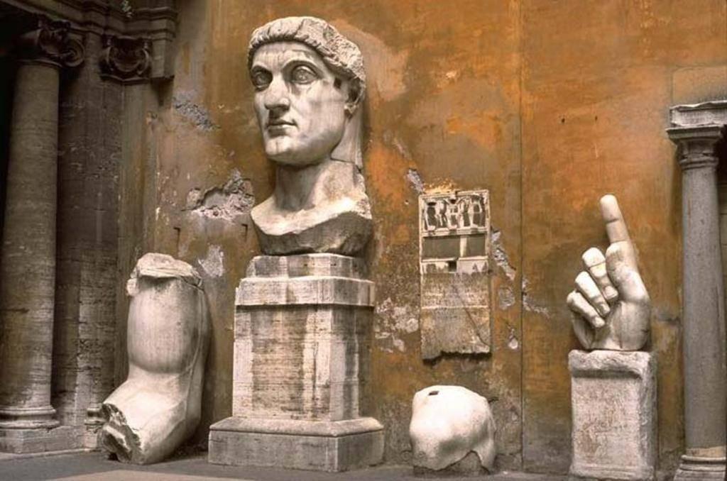 Emperor Constantine The Great of Roman Empire.