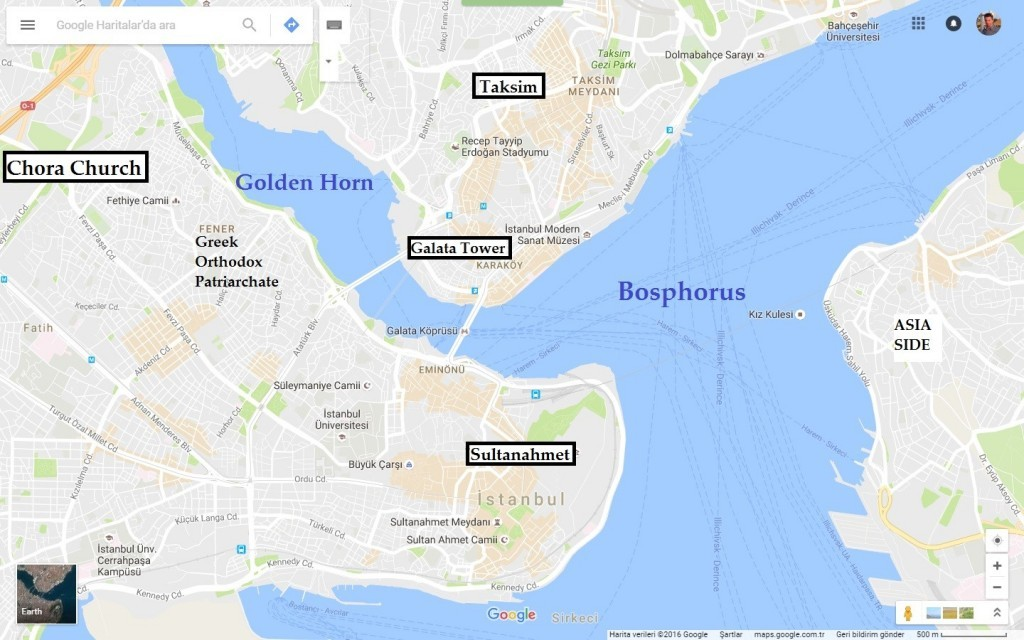 map-and-location-of-kariye-museum-chora-church