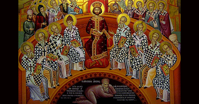 The First Council of Christianity Nicaea 325