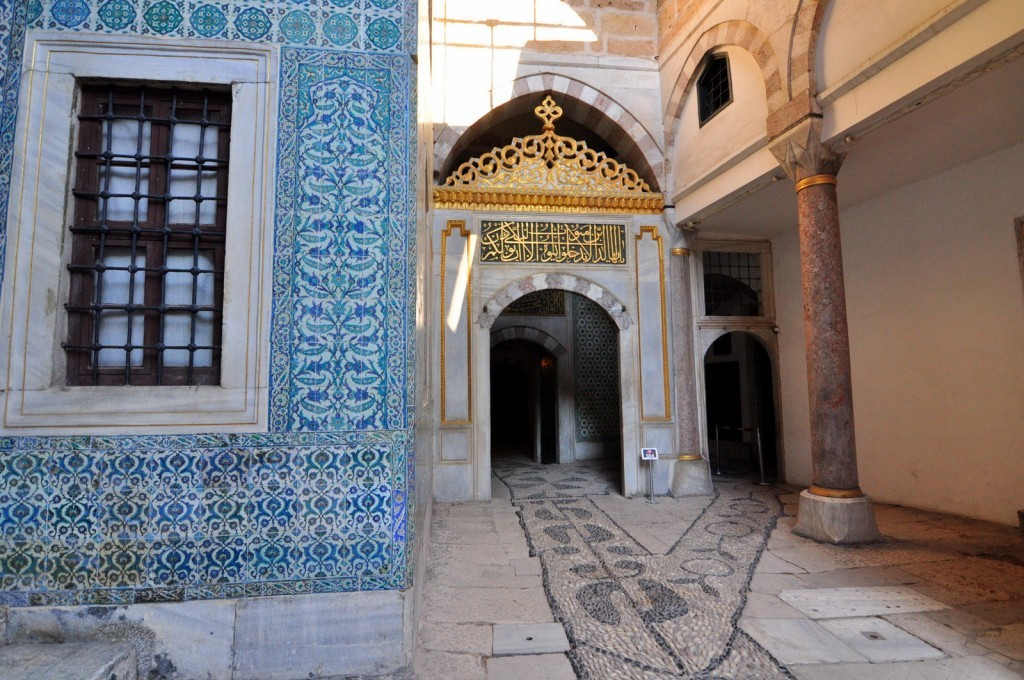 Courtyard of the Black Eunuchs in the Harem.