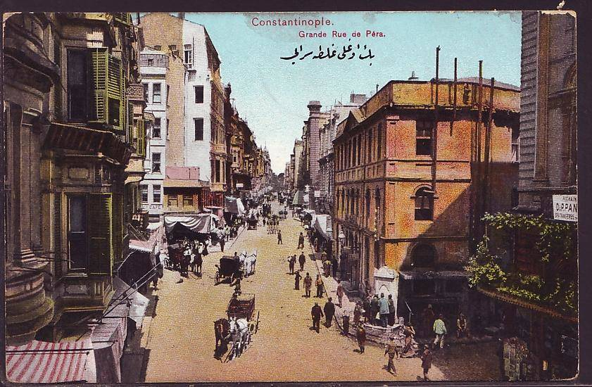Grand Rue De Pera Postcard