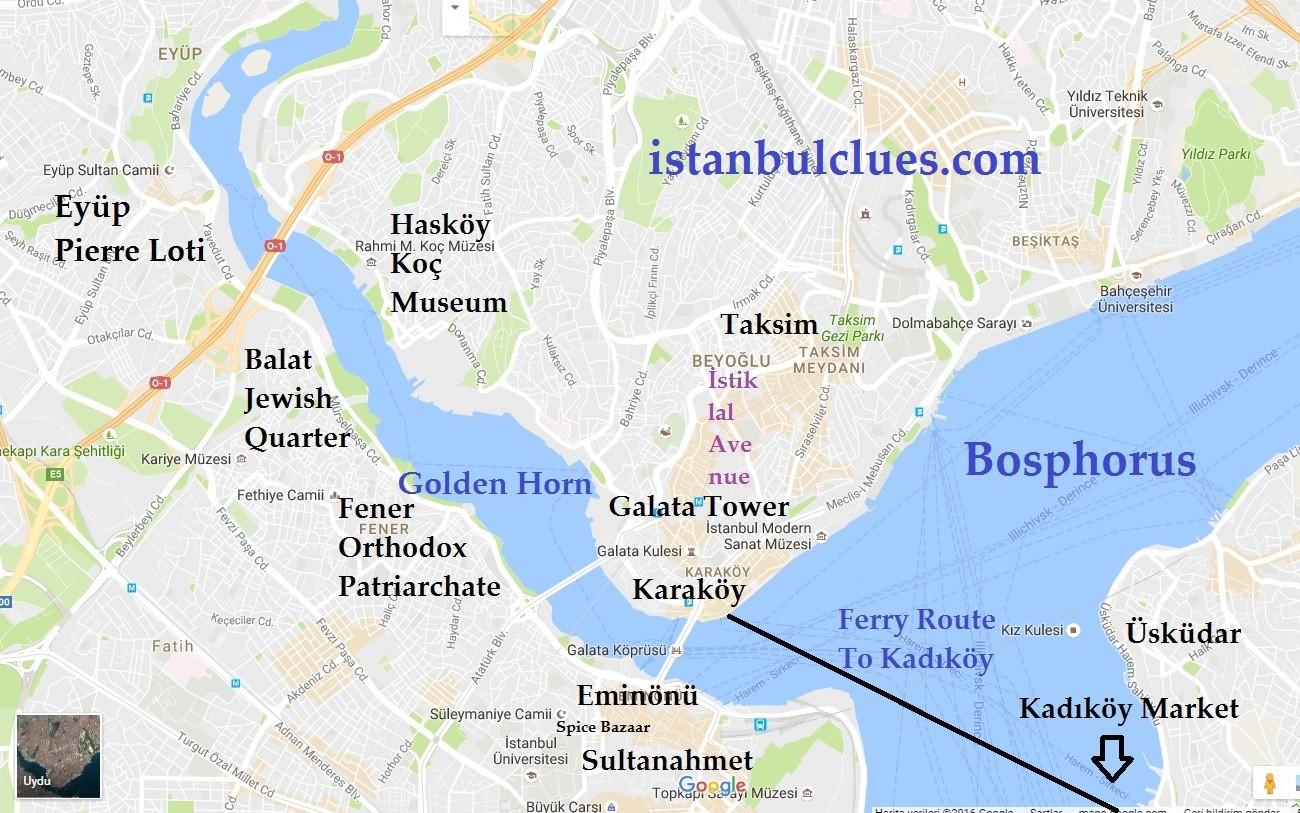 100+ Golden Horn Map Of Shoreline – yasminroohi