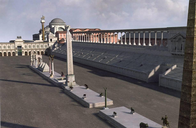 Serpent Column Hippodrome  Istanbul Tour Guide