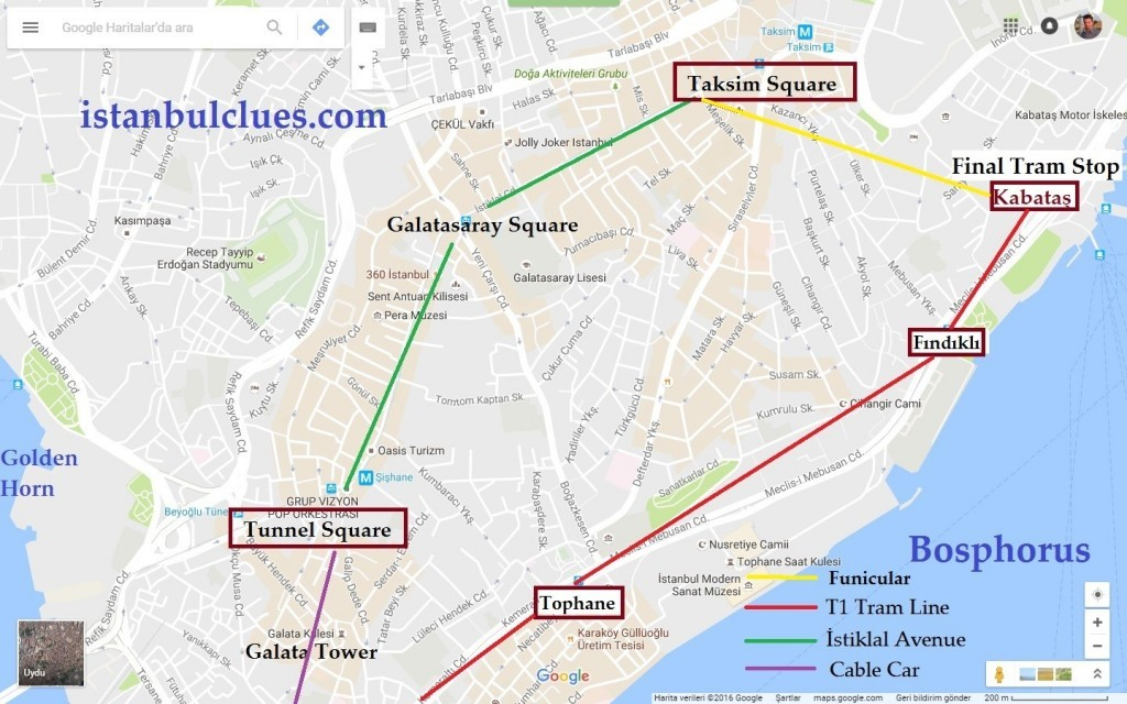 how-to-get-istiklal-avenue-from-sultanahmet-by-tram