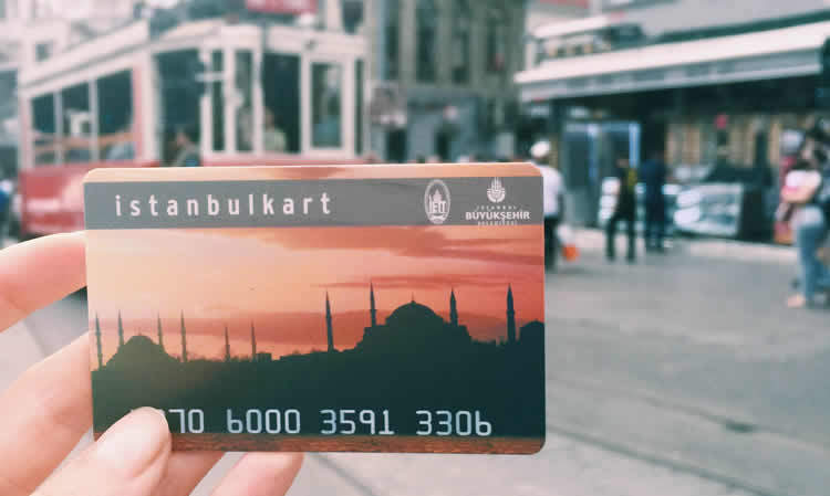 Istanbul Card Boarding Pass For Tram