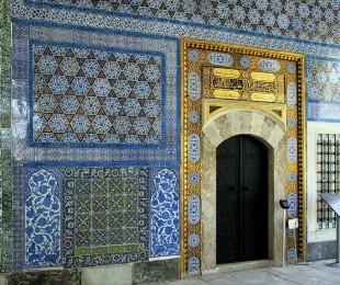 Topkapı Palace, wall with Iznik tiles