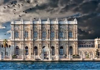 Oriental Architecture Of Dolmabahçe Palace