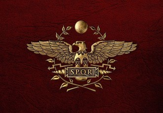 flag-and-coat-of-arms-of-roman-empire