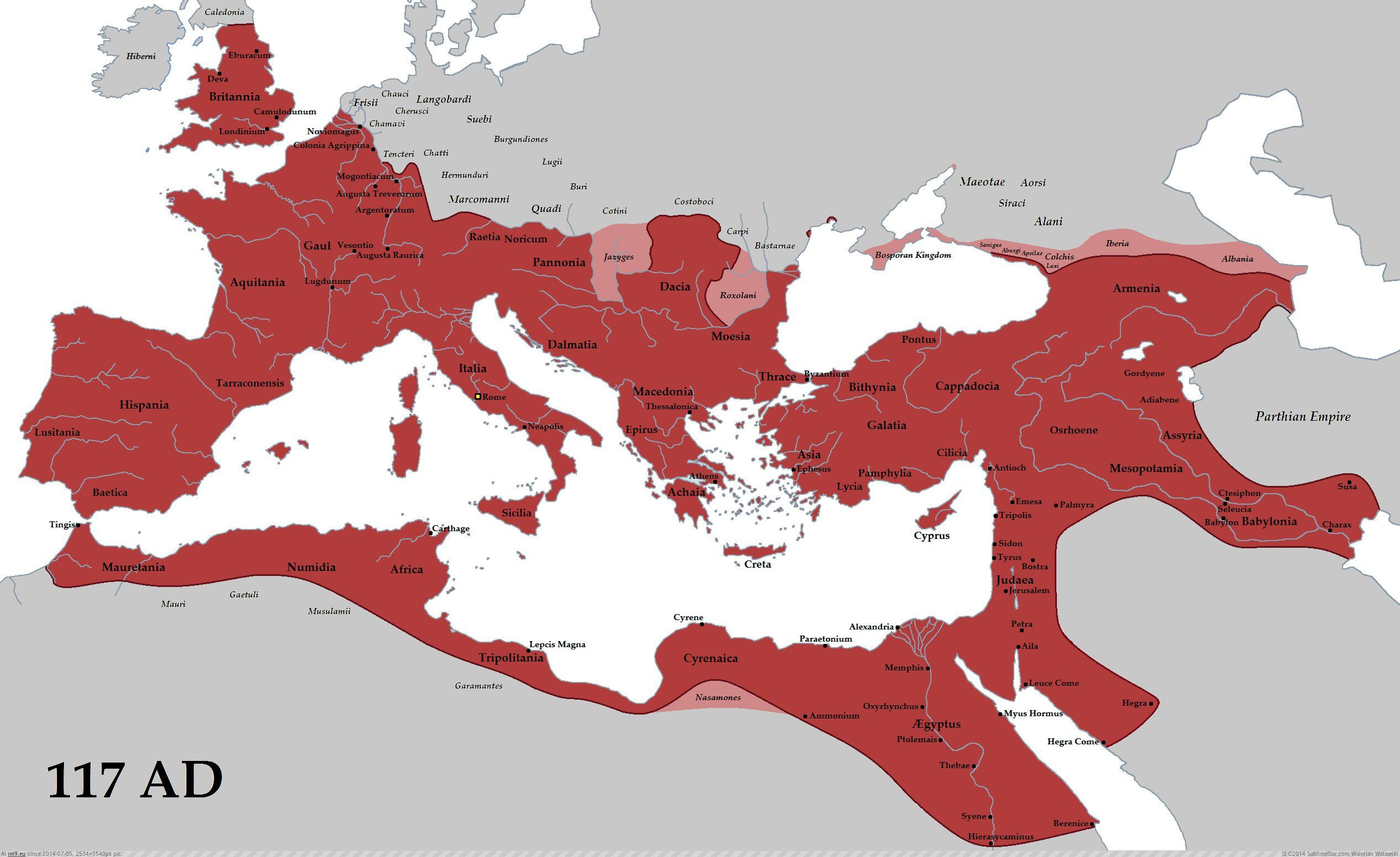roman-empire-at-its-height-trajan