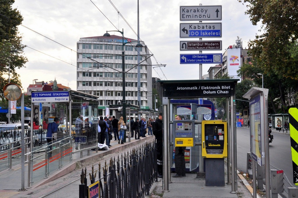 tophane-tram-stop-istanbul