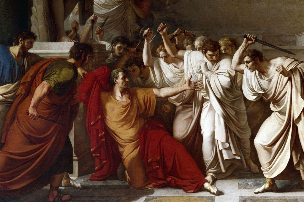 assassination-of-julius-caesar-painting