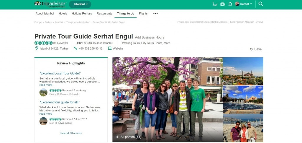 Private Tour Guide In Istanbul Recommended On Trip Advisor